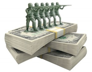 Change the scope and funding of our military and invest in domestic spending instead