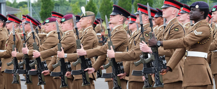 Allow serving British Army soldiers to bring their families to the UK