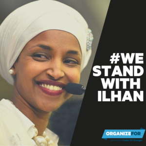 Sign now: We #StandWithIlhan