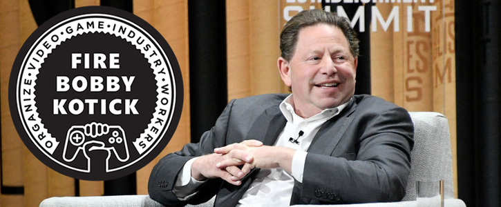 Fire Activision CEO Bobby Kotick for pocketing millions while laying off 800 workers