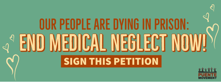 Our People Are Dying In Prison: End Medical Neglect Now!