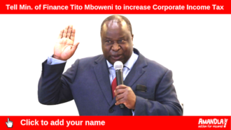 Tell min. of finance tito mboweni to increase corporate income tax %281%29