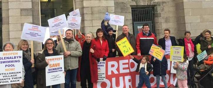 RE-BUILD AND RE-OPEN GLENALBYN SWIMMING POOL -    We want our 'Ring-Fenced' Funding Back