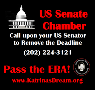 Remove the Deadline on the Equal Rights Amendment