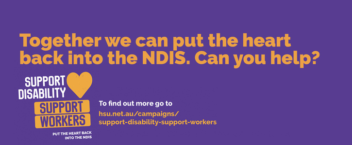 Put the heart back into NDIS