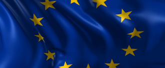 Flag of the european union beautiful 3d animation of the european flag in loop mode 4kjzfbk   f0000