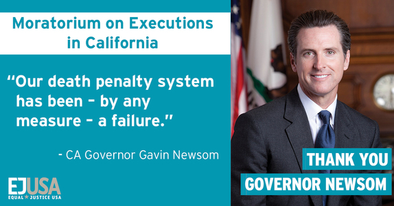 "Thank You For Pledging ""No Executions in California"""