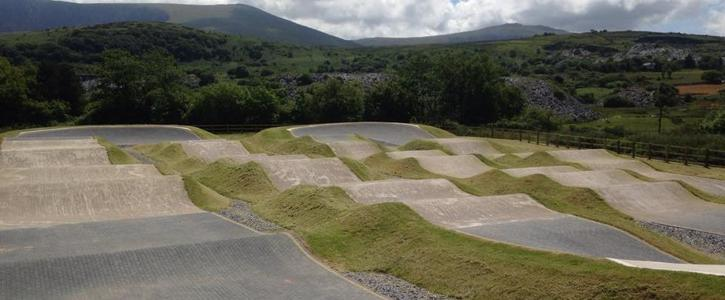 BMX bike track for Kildare Town