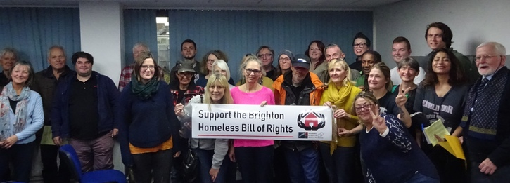 Adopt the Homeless Bill of Rights for Brighton & Hove