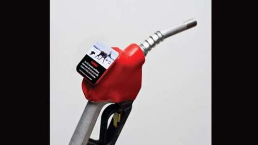 Add climate change warning stickers to gas pumps