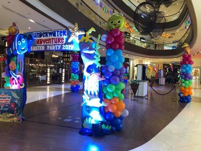 PLEASE SIGN UP FOR THE PETITION. STOP  THE USE OF BALLOONS  AT SHANGRI- LA  MALL EVENT