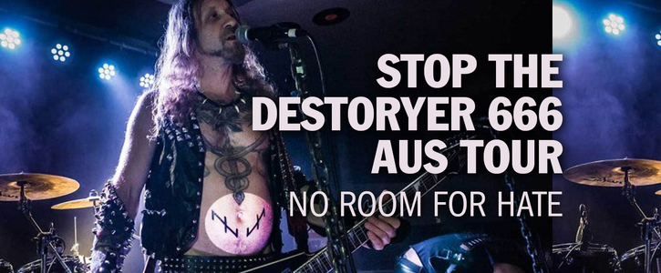 Keep Destroyer 666 from touring Australia