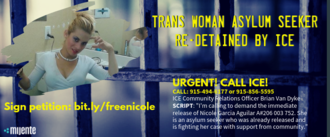 Trans Woman Asylum Seeker Has Been Re-detained!