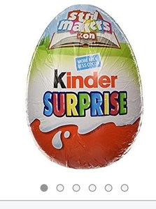 Stop Kinder egg flooding us all with plastic toys