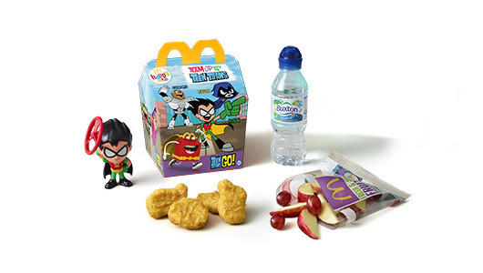 Replace McDonald's plastic toys with seeds and bee bombs for children to grow