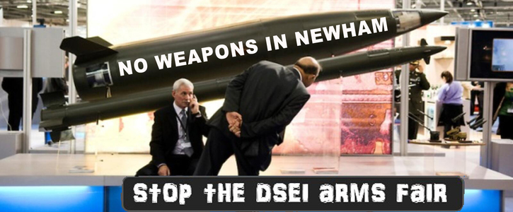 Stop the Arms Fair in Newham