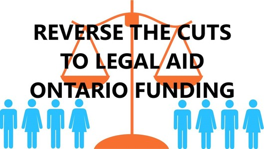 Reverse Cuts to Legal Aid Ontario Funding: MPP Christine Hogarth