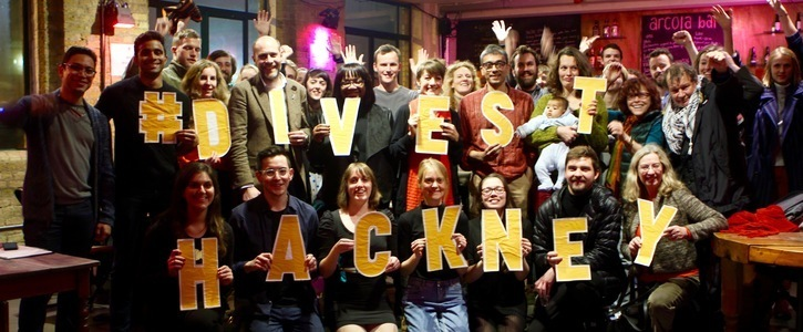 We, Members Of Hackney Pension Fund, Demand Hackney Divest From Fossil Fuels