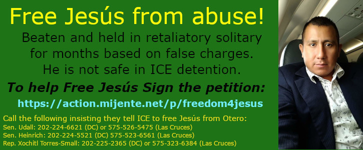 Free Jesús Lorenzo-Ávila from physical abuse and retaliation