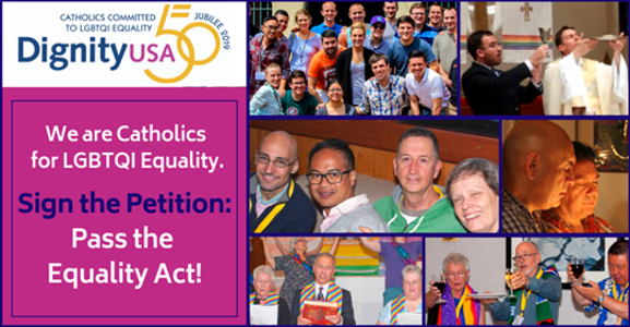 LGBTQI Catholics and Allies: We support the Equality Act!