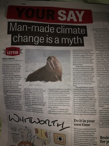 Sheffield Star must tell the truth about climate catastrophe.