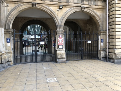Hull Paragon Station - keep the station accessible for disabled people! keep the gate open!