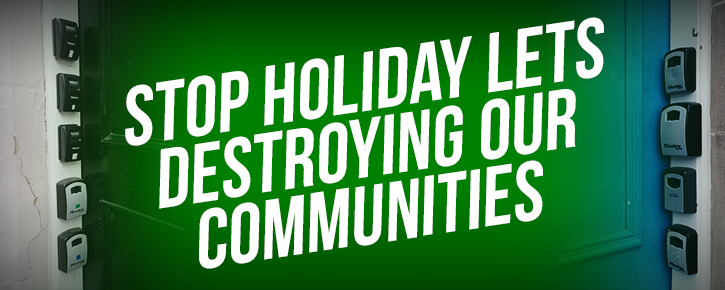 Stop holiday lets destroying our communities