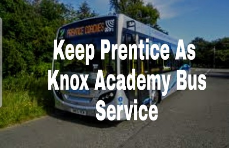 Reinstate Prentice Buses as Knox Academy school Transport Provider