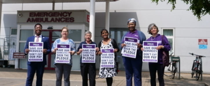 Bedford Hospital - Don't Outsource Our Domestics or Cut Their Existing Hours!