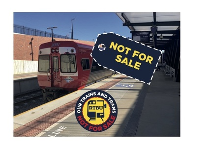 Our trains and trams: NOT FOR SALE
