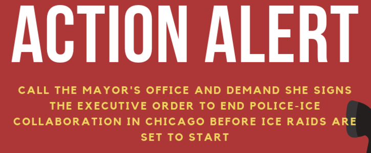 Tell Mayor Lightfoot To Sign Executive Order to Protect Chicagoans Before Trump's Raids Start