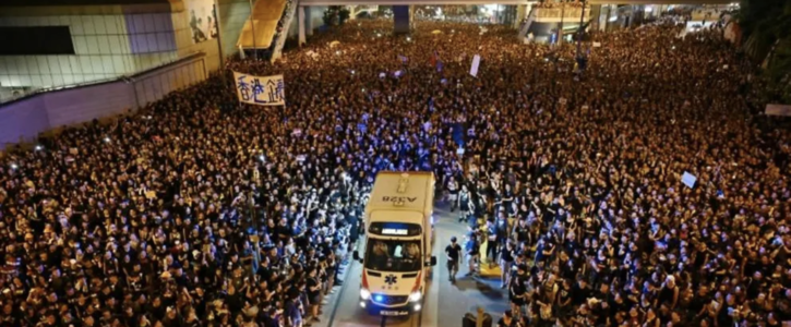 Stand up for Human Rights in Hong Kong
