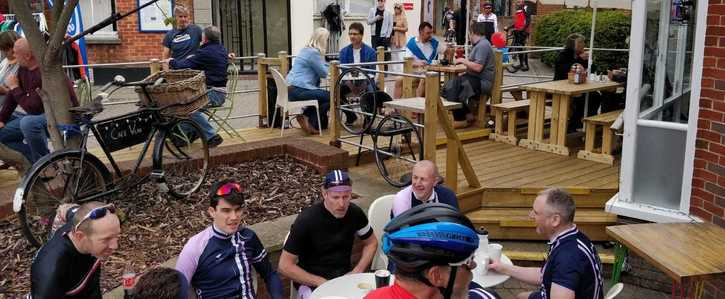 Cafe Velo - Save Our Decking Area