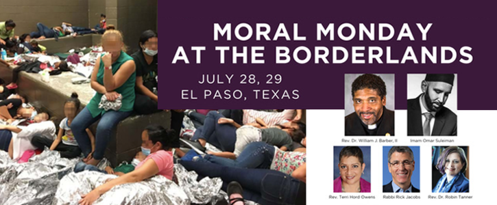 Sign to Support Moral Monday at the Borderlands