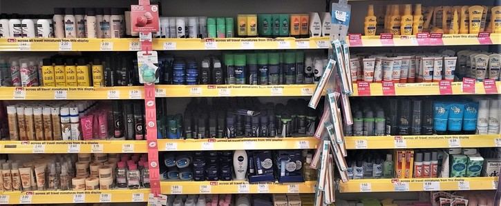 Tell retailers to stock plastic free toiletries