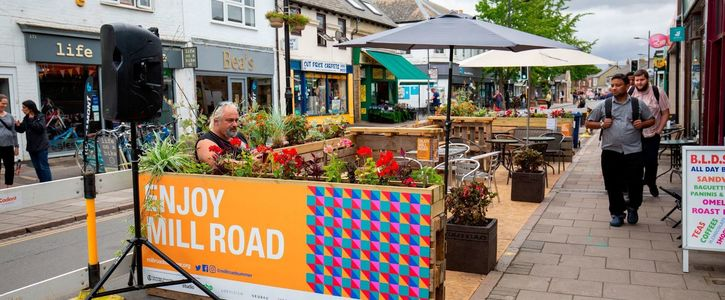 Keep the Romsey Parklet on Mill Road!