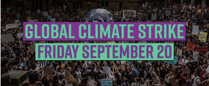 Support the global September 20 Climate Strike