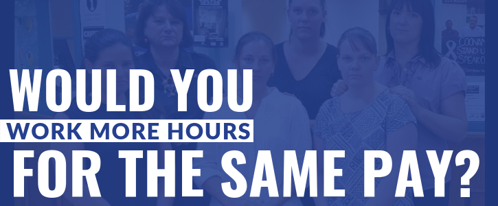 Keep the 35 hour working week for Local Government employees