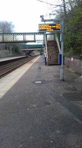How accessible is your local train station?
