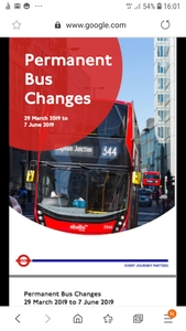 Stop the Cancelling of London's buses and Limiting Bus routes