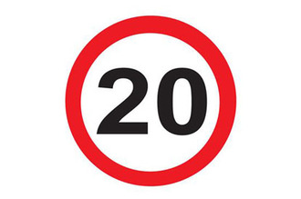 Create 20mph zones and/or speed humps