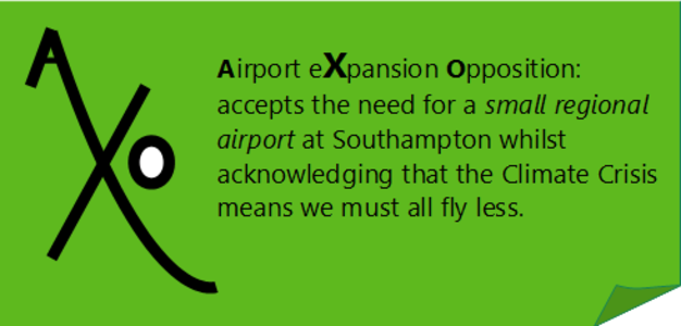 Airport Expansion Opposition - Southampton