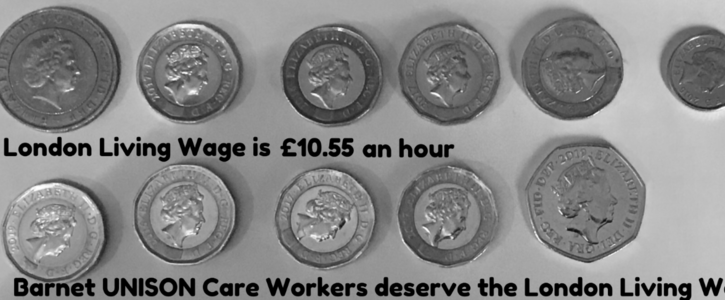 Our Call For The London Living Wage For All Barnet Group Employees