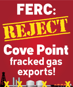 Stop Fracked Gas Exports at Cove Point