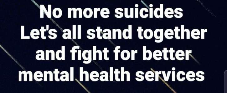 We need better mental health services