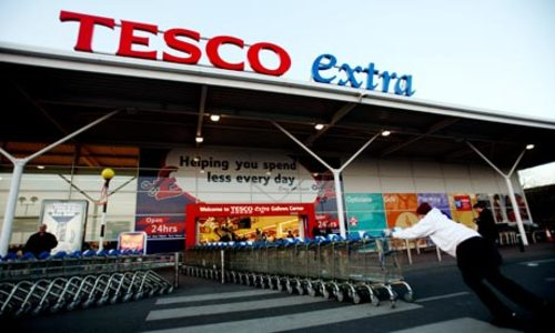 Tesco: pay your workers a wage they can live on