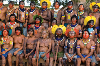 Get the England team to play the Kayapó tribe after the World Cup