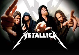 In Support of Metallica at the Glastonbury Festival