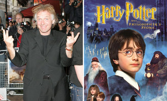 Release deleted scene's of Rik Mayall from Harry Potter and the Philosophers Stone
