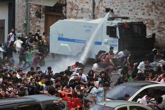 Please deny authority to use water cannon in the UK
